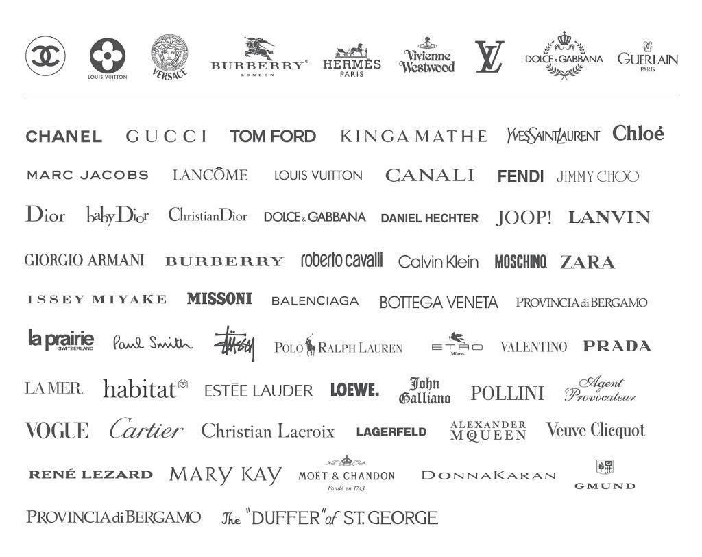 Branded DESIGNERS Label